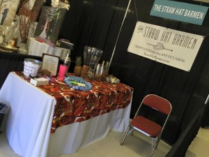 The Straw Hat Barmen shared a delicious punch with visitors to a bridal show on Sunday.