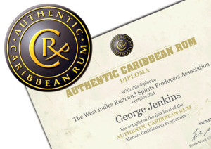 It's official: We're certified at spotting Authentic Caribbean Rum.