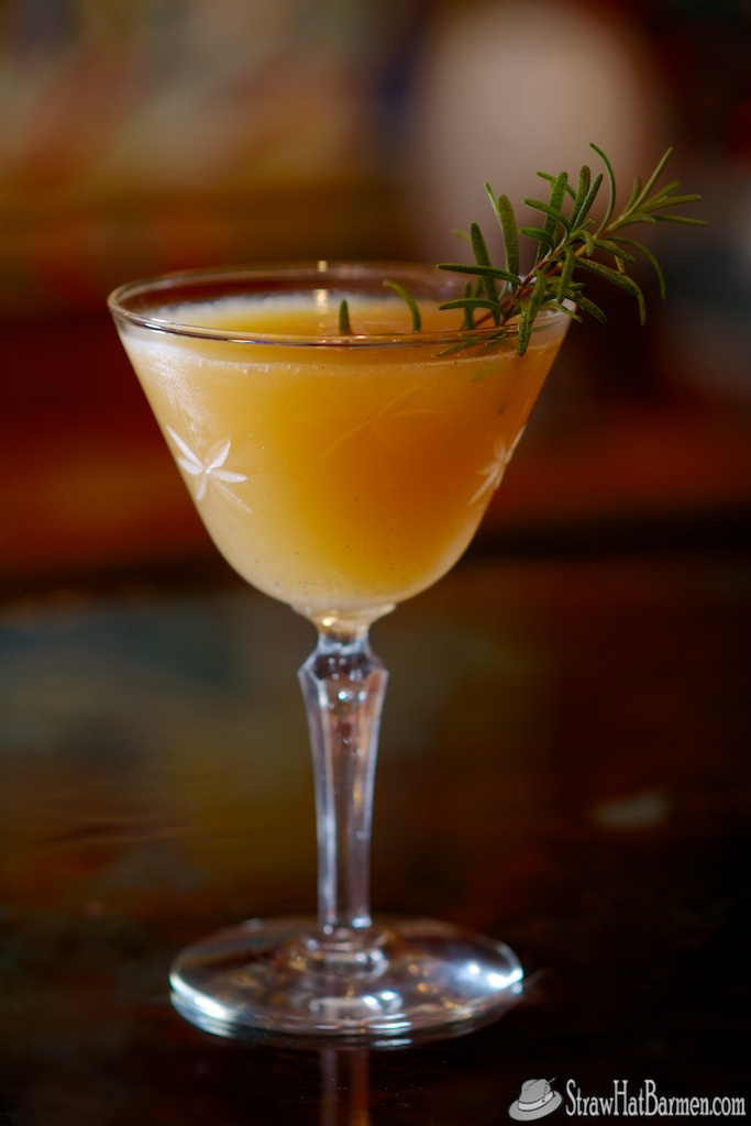Totally florida holiday cocktail gives fresh twist to for Cocktail florida